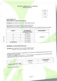 TEST REPORT TYPE IIR 4